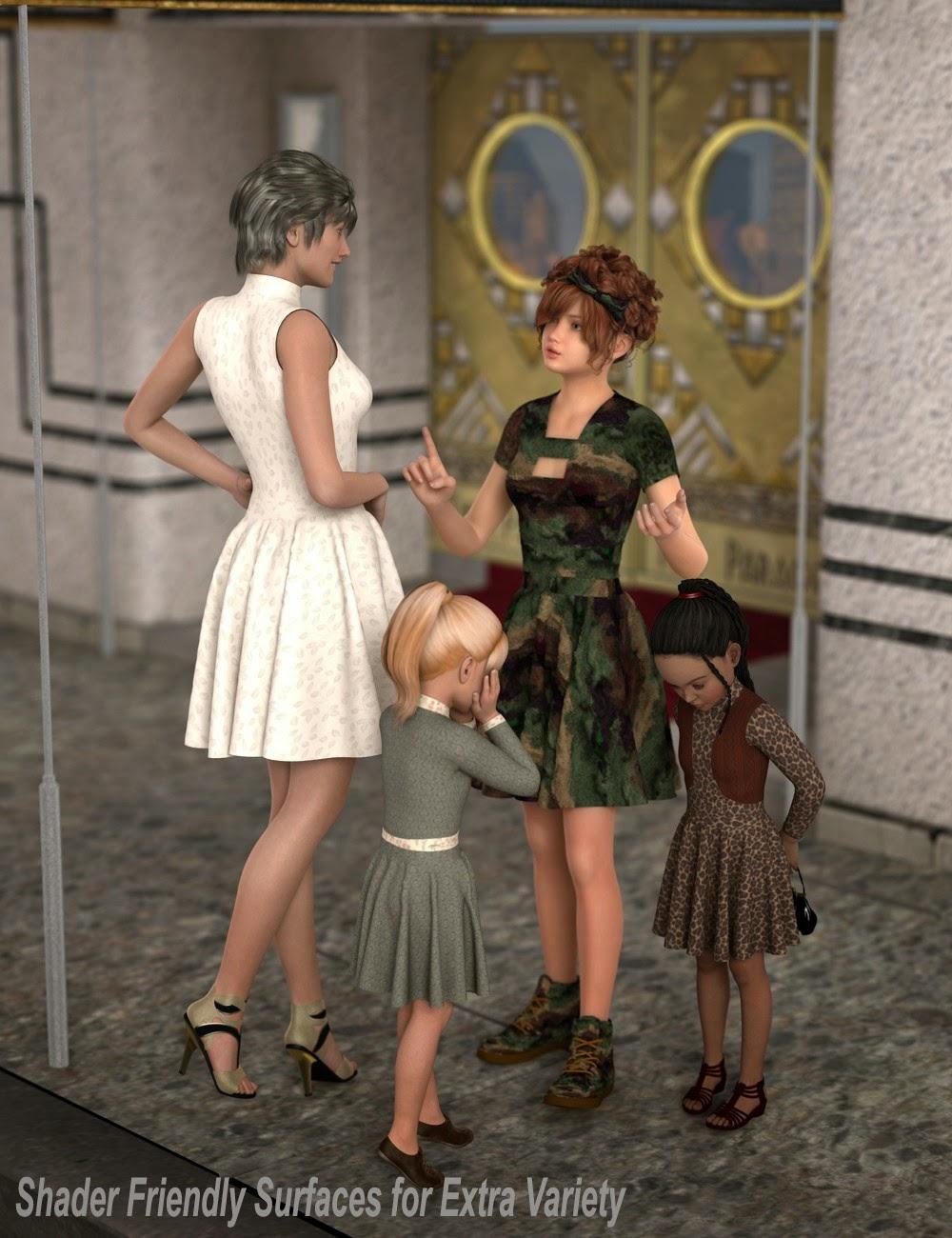 Robe Katlyn pour Genesis 2 Femme