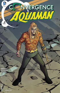 Cover of Convergence: Aquaman #1 from DC Comics