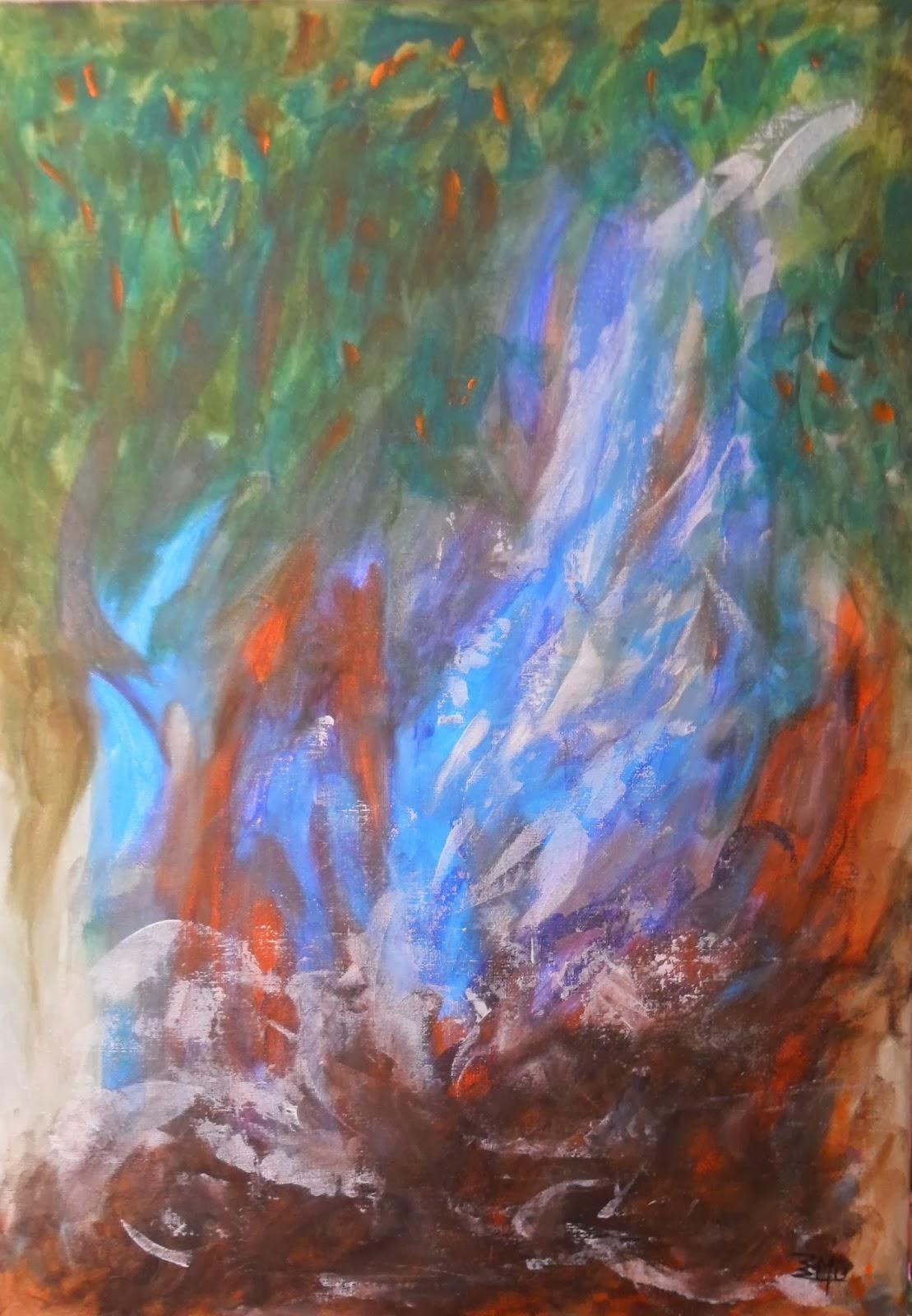 expresionismo abstracto - eliasmonsalve.com  @eliasmons
