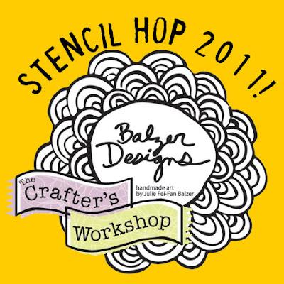 Balzer Designs Stencil Blog Hop
