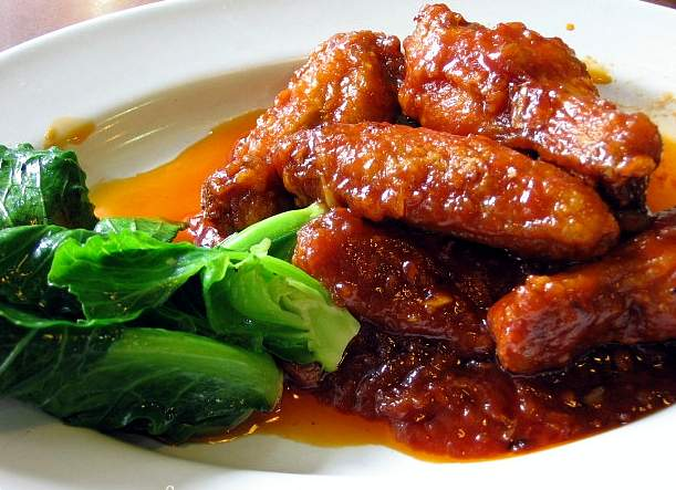 Thai food recipes chicken wings in red sauce chicken wings in red sauce forumfinder Choice Image