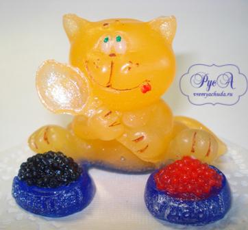 мыло кот с икрой