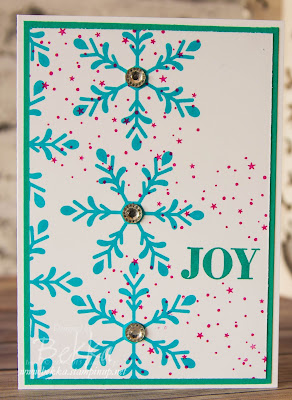 Fast and Fabulous Christmas Card made using Stampin' Up! UK supplies - grab them here