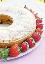 Torta morbida di fragole