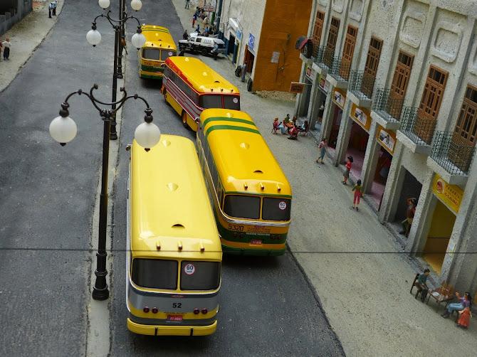 Miniatuaras do ônibus Cermava 3ª e ultima edição