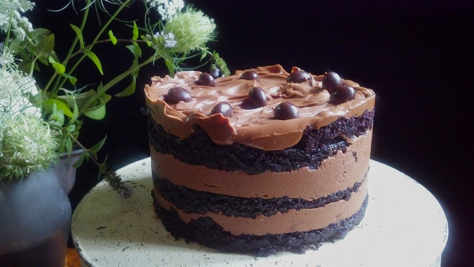 salted sugared spiced™: Chocolate Cake with Chocolate Buttercream ...