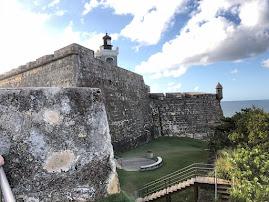 Phare de San Juan, Morro de San Felipe (Puerto Rico)