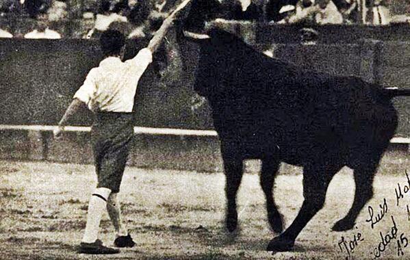 Pepín Martín Vázquez con 15 años
