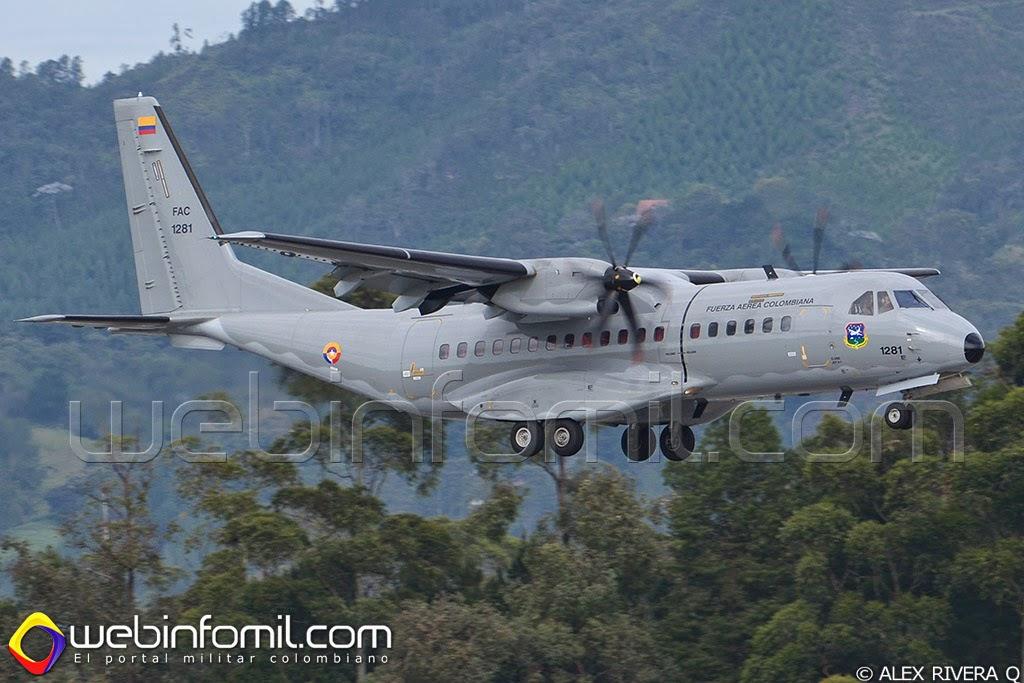FAC1281 Fuerza Aerea Colombiana C295M
