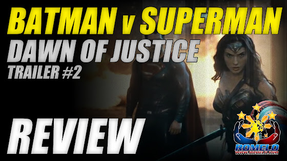 Batman v Superman Dawn Of Justice Trailer 2 Review