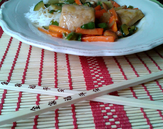 Receta fácil y rápida elaborada en wok