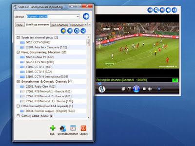 Football streaming free on the internet