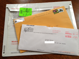 Olive Tree Genealogy Blog: The Anticipation of Snail Mail!