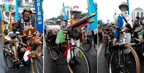 komunitas sepeda onthel surabaya
