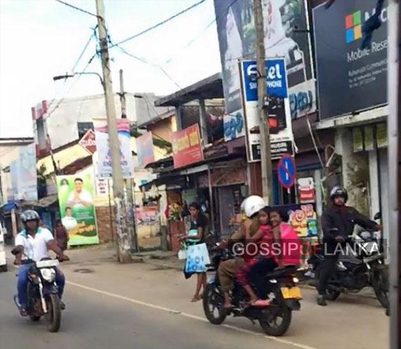 SL Police Violation Caught On Camera