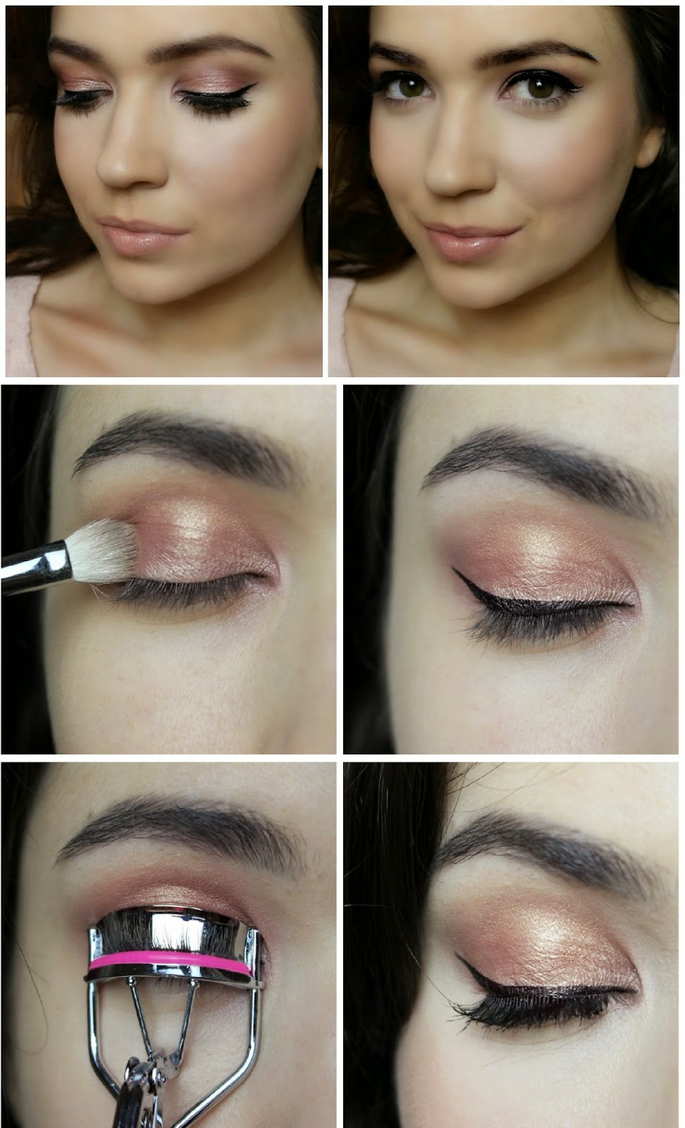 DIY Rose Gold Eyeshadow