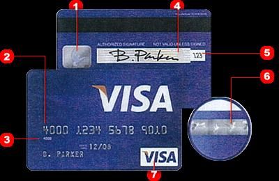 kreditkartennummer american express