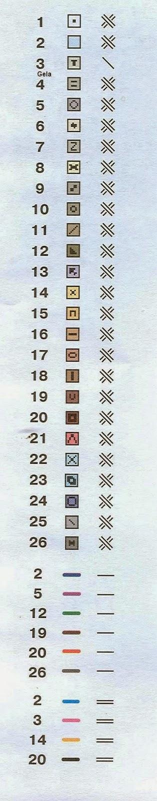 Схема вышивки. ВЕНА. АРТ. 908 РИОЛИС