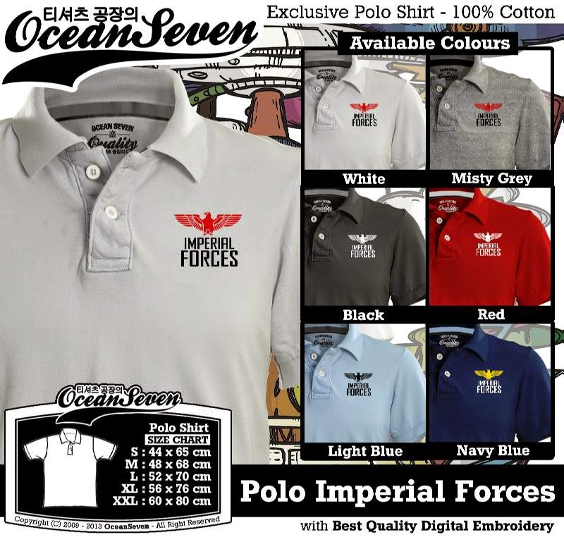 Kaos Polo Imperial Forces