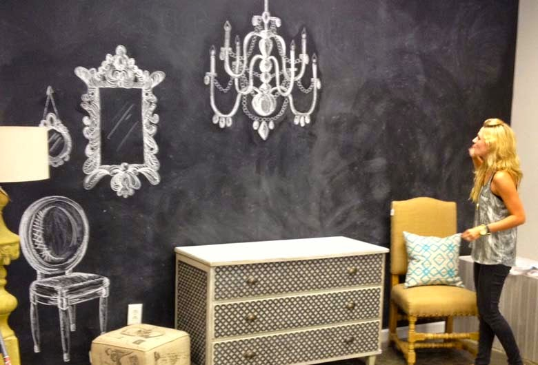Viprojoven diy 3 ideas para decorar tus paredes - Pintar pared pizarra ...