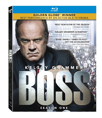 Boss on Blu-Ray from Starz