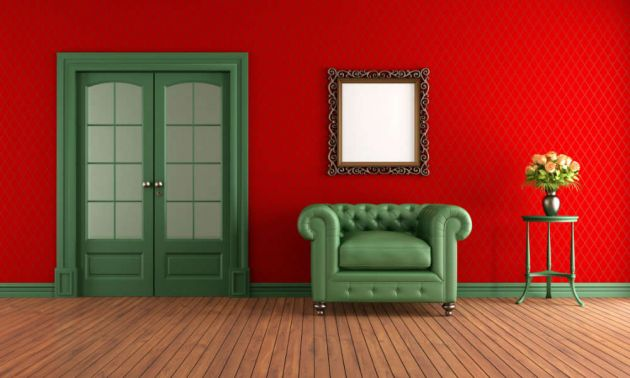 Casa bricolage decora o e artesanato id ias para - Pintar paredes estucadas ...