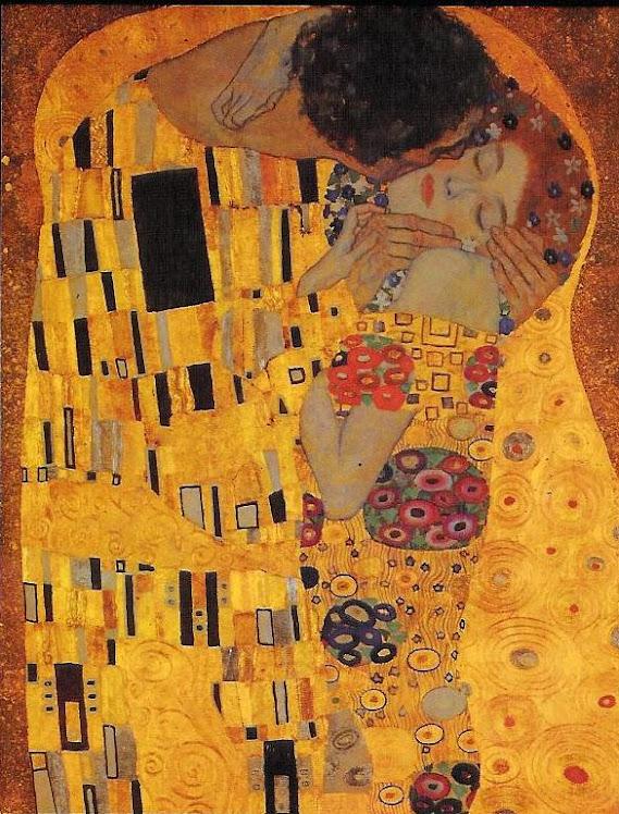 El beso. Gustav Klimt