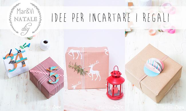 idee per incartare regali