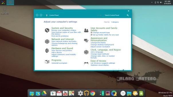 Screenshot Android L Skin Pack win 8/8.1