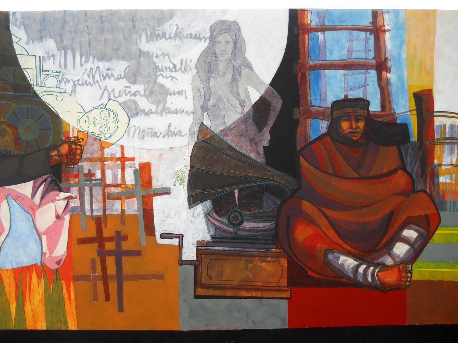 Carpita muralismo y arte p blico obra mural for Mural la misma luna