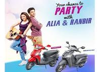 Test Ride a Hero Maestro or Hero Pleasure Scooter with Ranbir & Alia