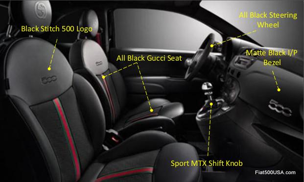 Fiat 500 By Gucci II Interior