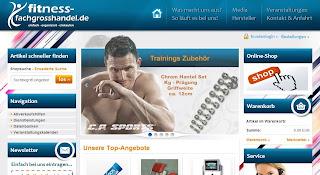 Design für Fitness Shop