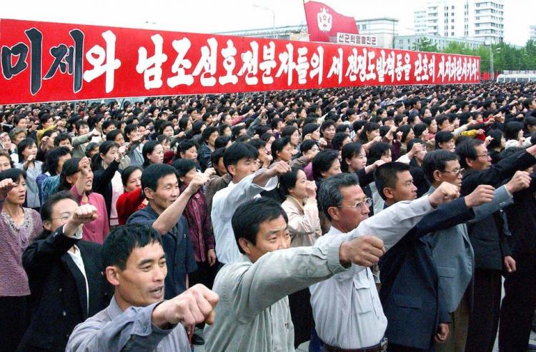 "... North Korea, but whichWashington euphemistically calls ""defensive"