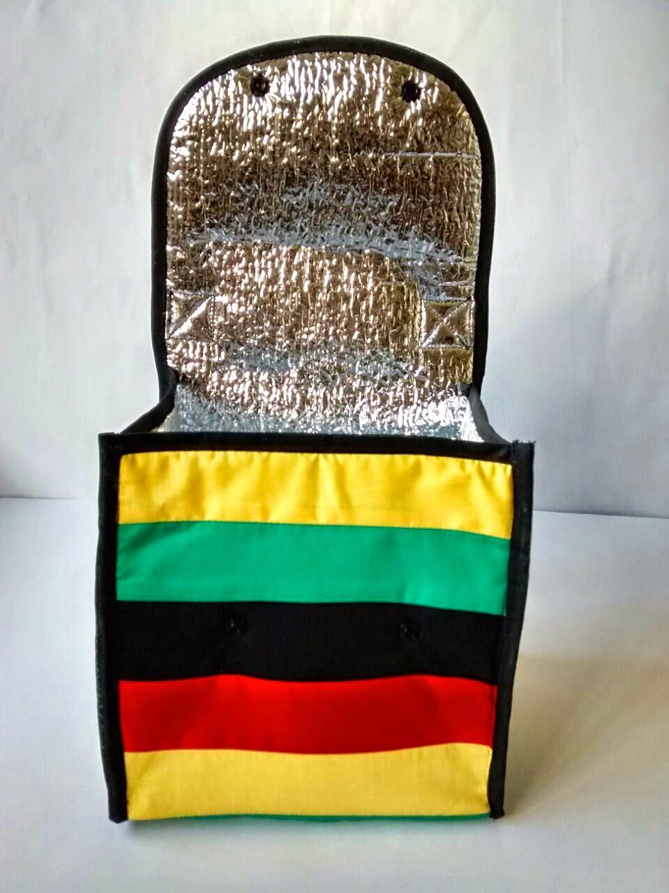Lancheira Térmica de tecido | Ateliê Madrica