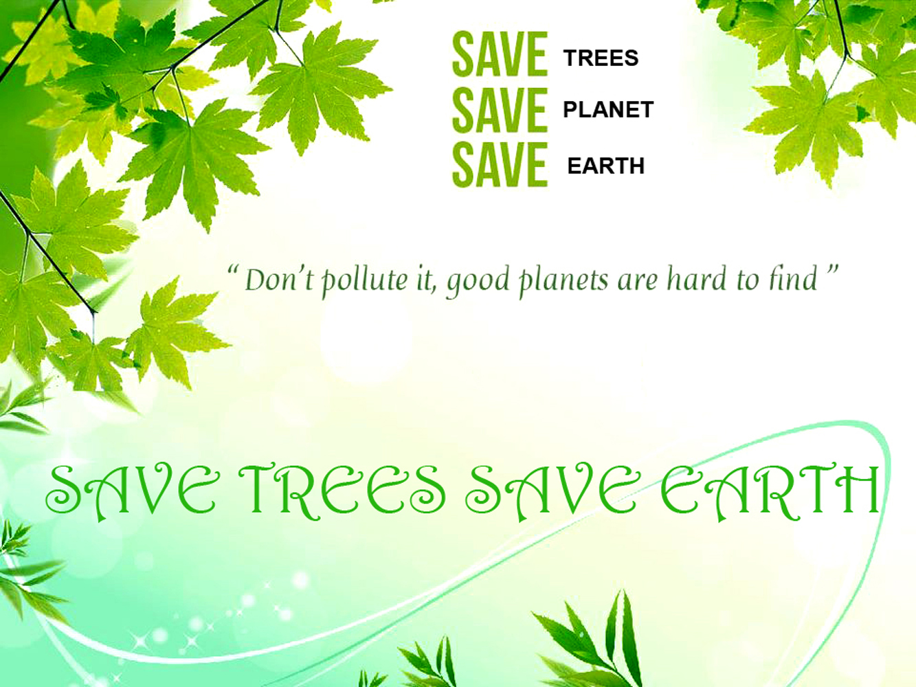 save trees save earth Saving trees around you every town and city has laws dictating which tree species need to be protected and when and how it's ok to cut down trees.