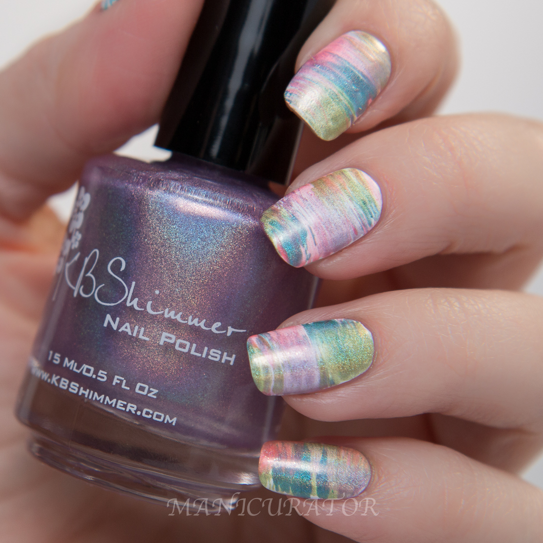 KBShimmer-Thistle-Be-The-Day-fan-brush-flower-nail-art
