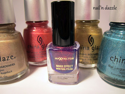 China Glaze, OMG, collection, holo, holographic, giveaway, fantasy, fire
