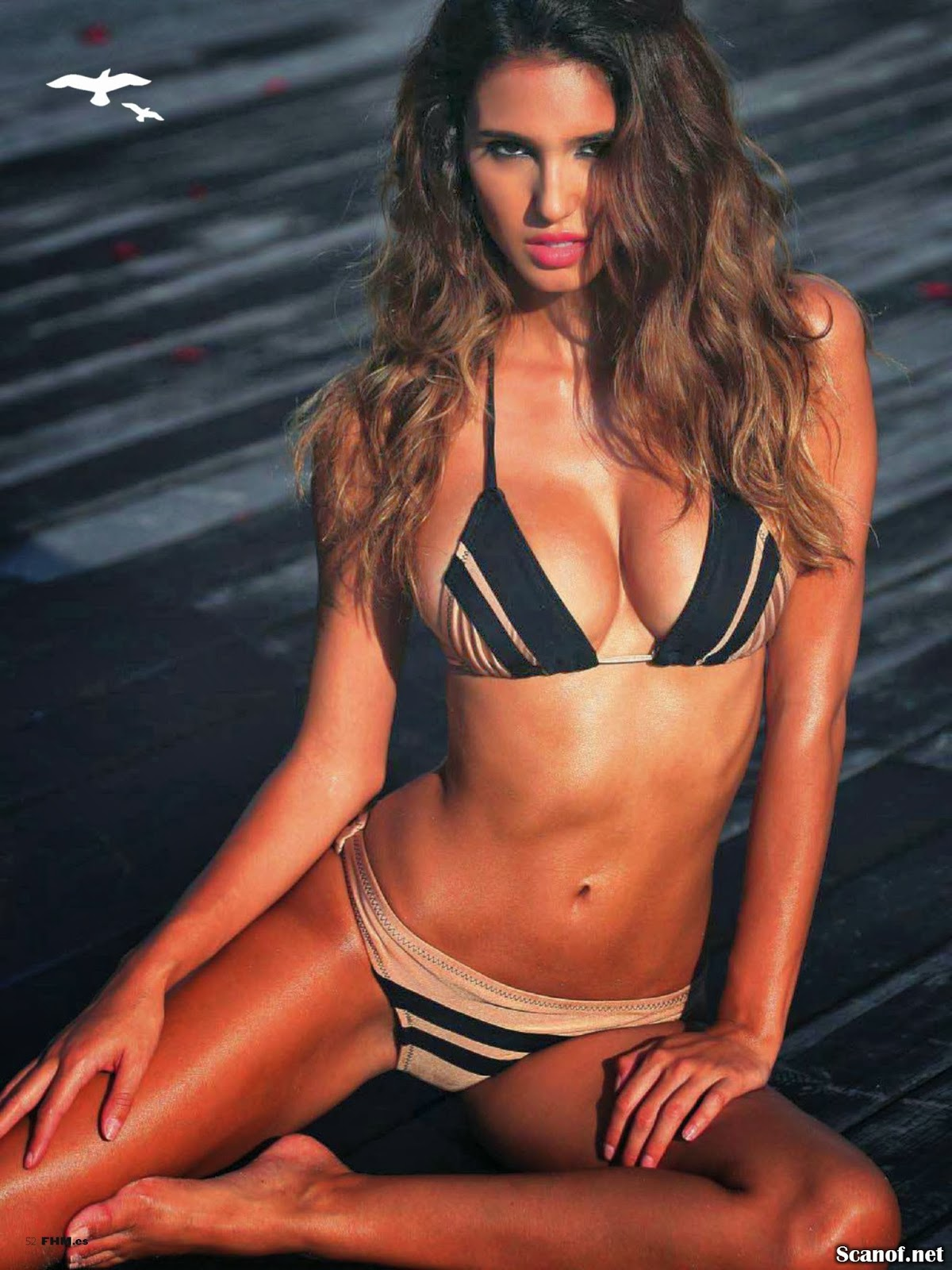 Magazine Photoshoot : Ashley Sky Photoshot by Megane Claire FHM Magazine Spain January 2014 Issue