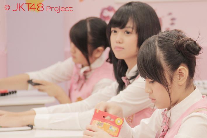 Nabilah , Diasta pada JKT48 School episode 8
