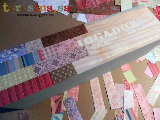 Caja patchwork de papael