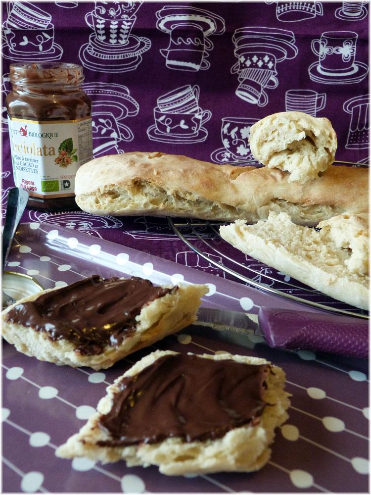 Baguettes de pain blanc au robot une graine d 39 id e for Baguettes de pain maison