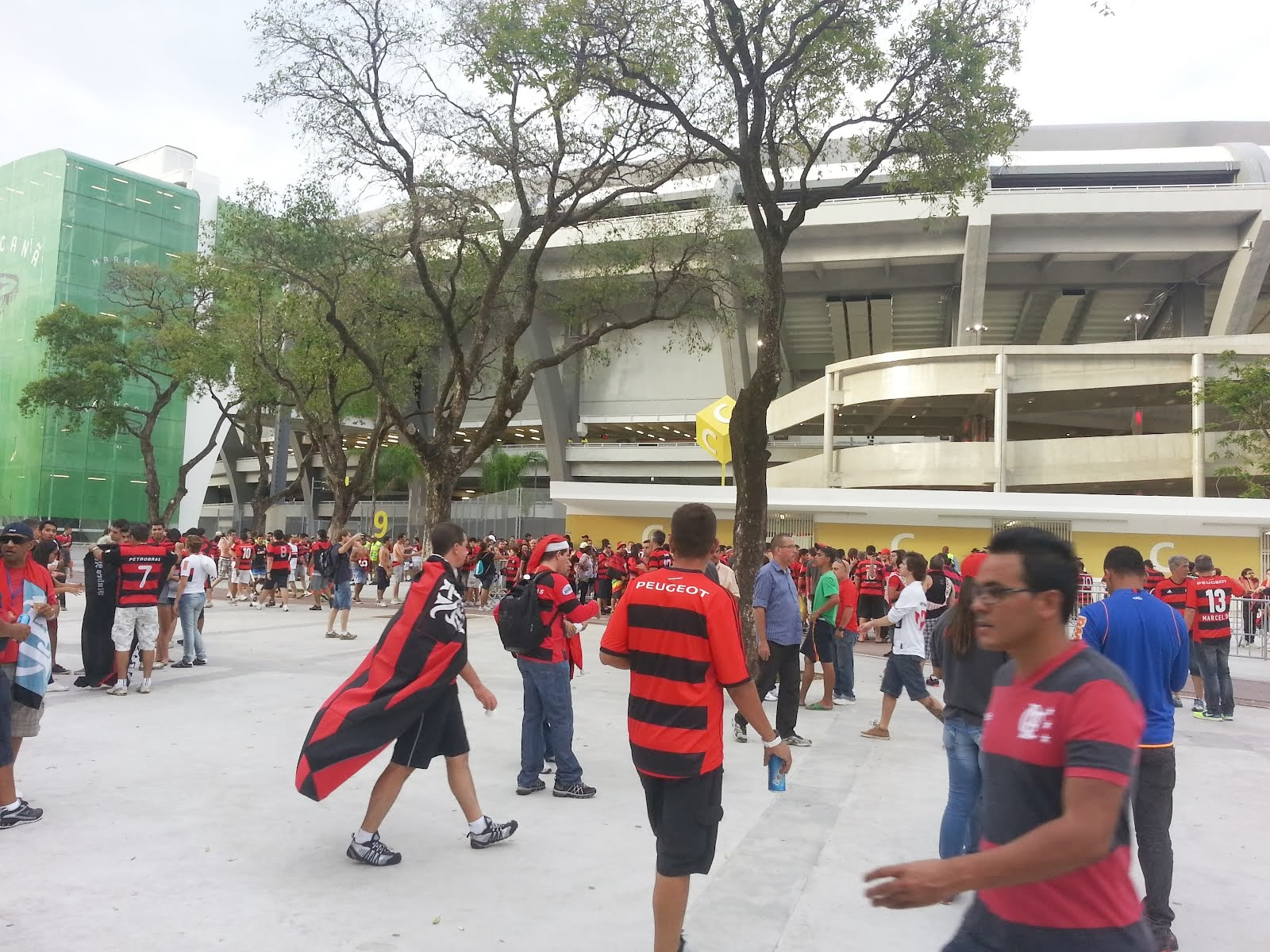 Flamengo 2 x 0 Atletico Paranaense - Brazil's Cup Final in Maracana on Day 27th November 2013