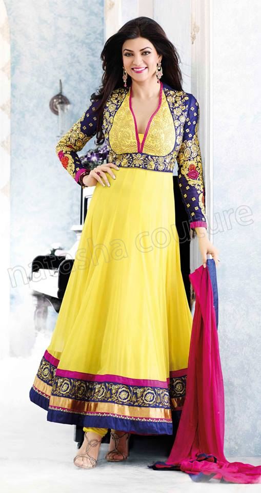 Anarkali long shirt and umbrella style indian frocks 2015 for Anarkali indian cuisine