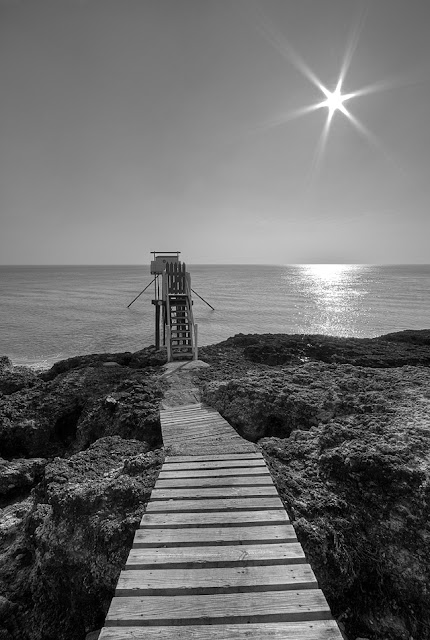 photo royan, cote de st palais, paysages de Charentes maritimes, carrelets estuaire gironde, carrelets charentes maritimes, photo noir & blanc hdr,  photo fabien monteil