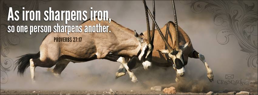 Proverbs 27:17