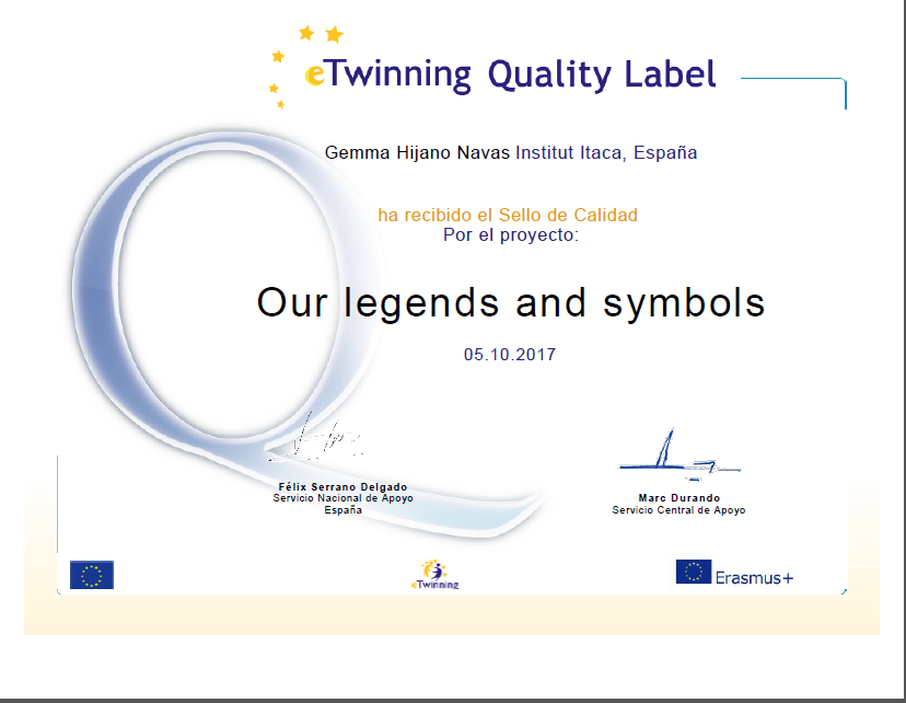 National Quality Label