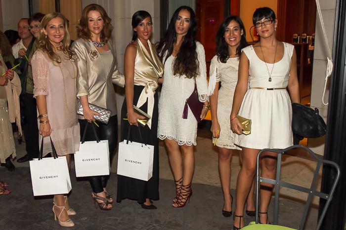 Finalistas mejor look moda Presentación en Valencia Dahlia Divin de Givenchy