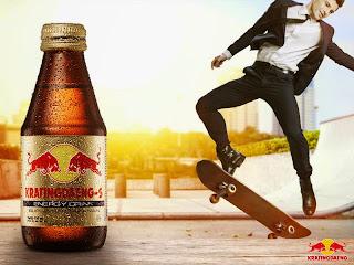 minuman berenergi untuk kerja berat