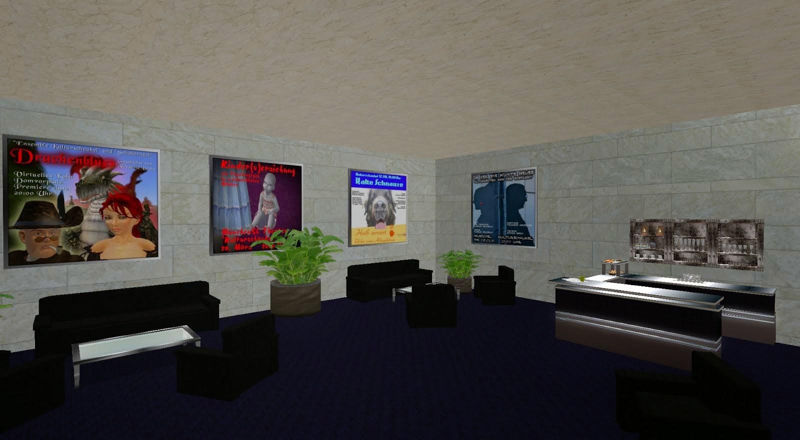"Die ""Kulturschaukel - Kulturzentrum im Grid ""Metropolis"", Region Beeblebrox"